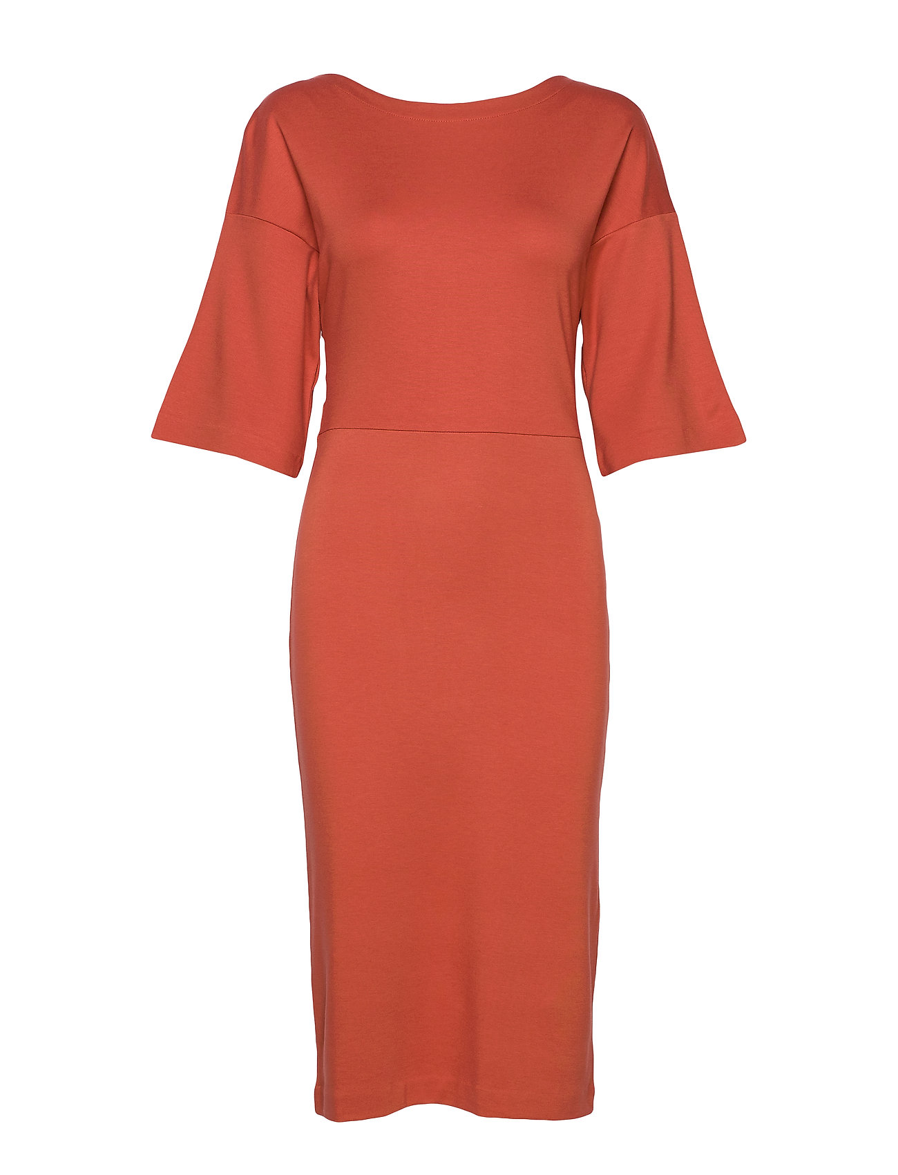 Residus WINIFRED DRESS - FIG RED