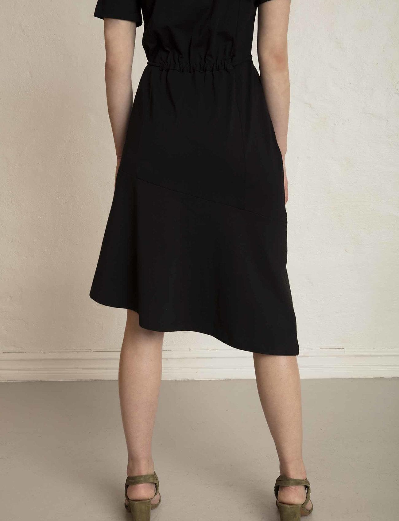 Residus OLIVIA ORGANIC COTTON TEE DRESS - Kleider BLACK - Damen Kleidung