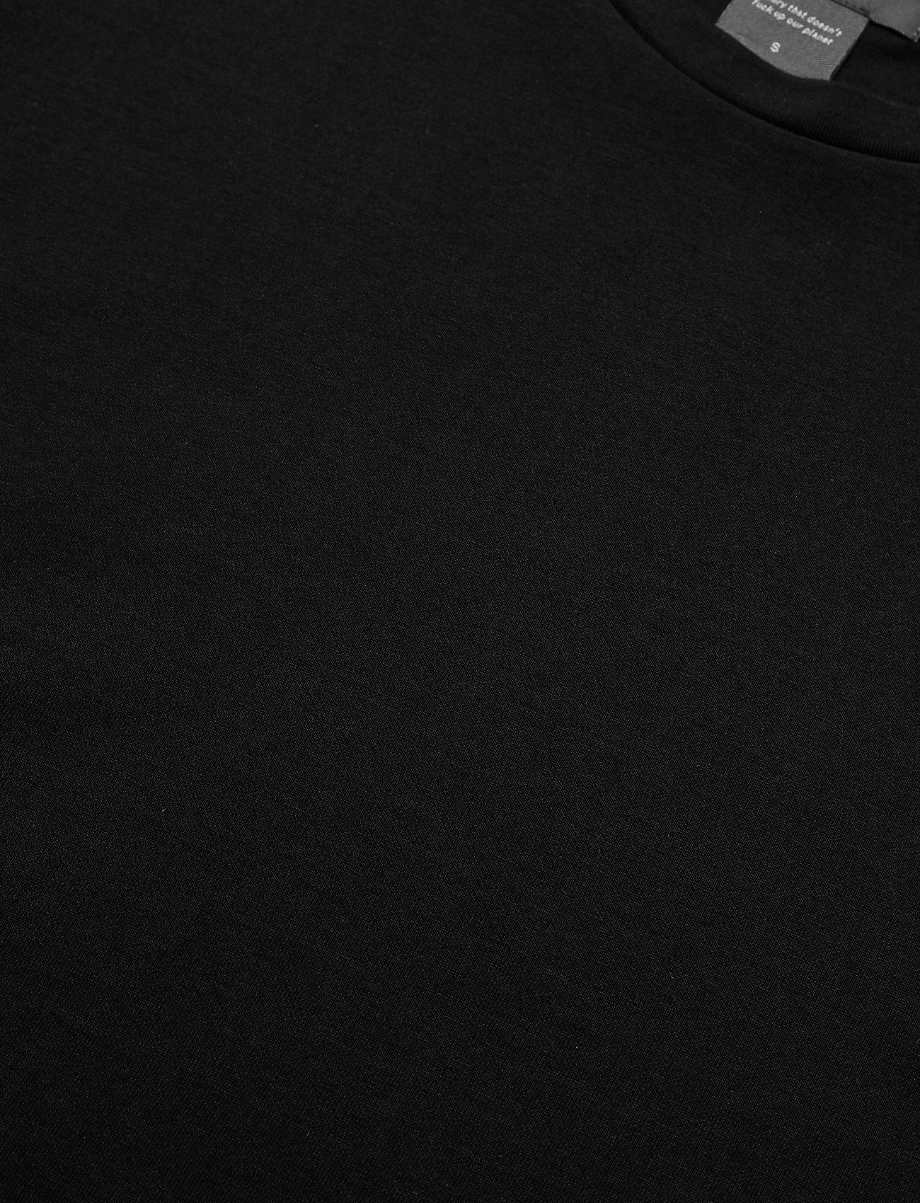 Residus OBI ORGANIC COTTON TEE - T-Shirts & Tops BLACK - Damen Kleidung