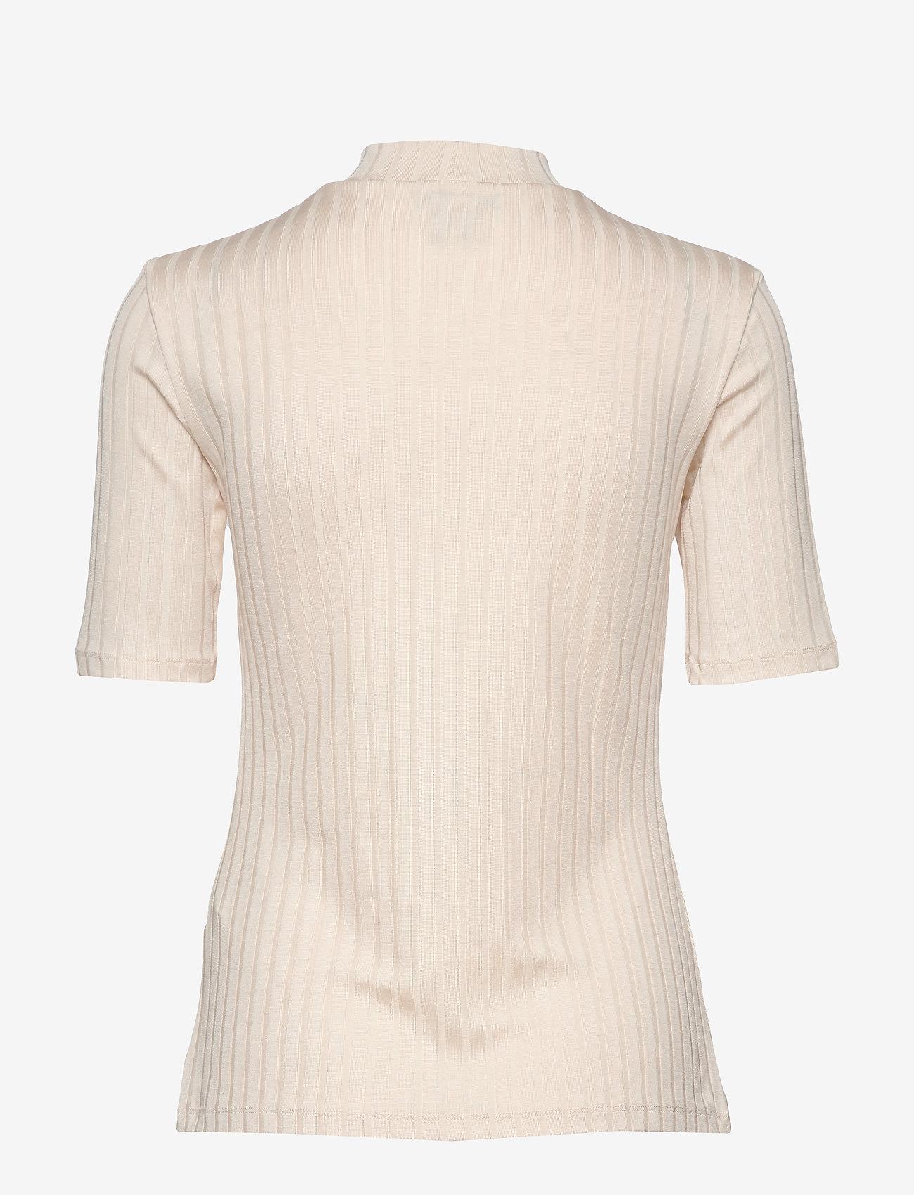 Residus MOSS RIB TOP - T-shirty i zopy WHITE SAND - Kobiety Odzież.