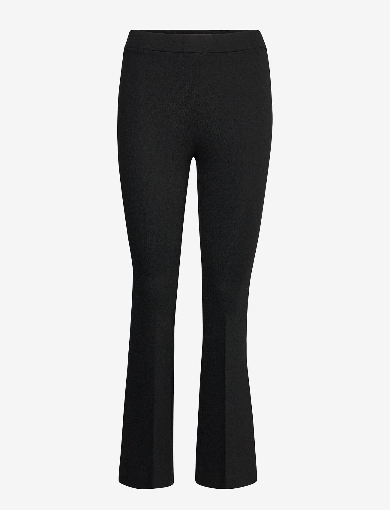 Residus - LANA FLARE PANT - vêtements - black - 1