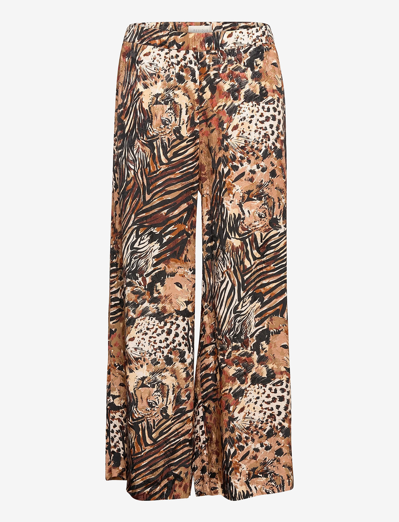 Residus - Rain Silky Pyjama Pant - pyjamas - mole (leo print) - 0