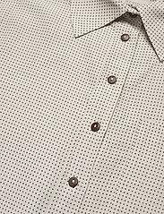 Residus - RODA SASHIKO SHIRT - overhemden met korte mouwen - sand stone - 8