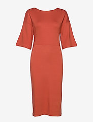 Residus - WINIFRED DRESS - midi jurken - fig red - 0