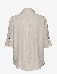 Residus - RODA SASHIKO SHIRT - overhemden met korte mouwen - sand stone - 2