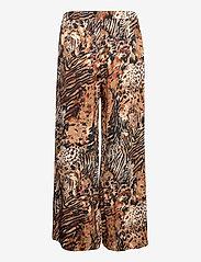Residus - Rain Silky Pyjama Pant - pyjamas - mole (leo print) - 1