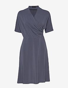 Pomme Dress - OMBRE BLUE