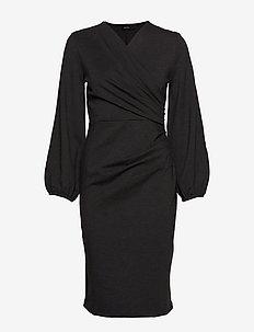 Milou Dress - DARK GREY MELANGE