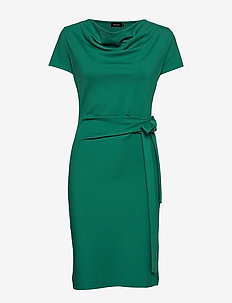 LILY DRESS - ANTIQUE GREEN