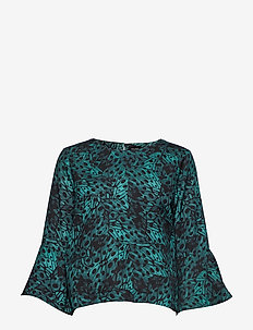 Nour Blouse - ANTIQUE GREEN
