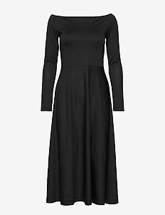 BENEDICTE JACQ. DRESS - BLACK