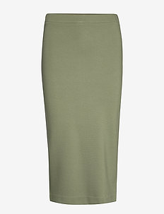 FAMKE SKIRT - midi - winter green