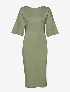 WINIFRED DRESS - WINTER GREEN