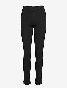 LOU ECOVERO PANTS - BLACK