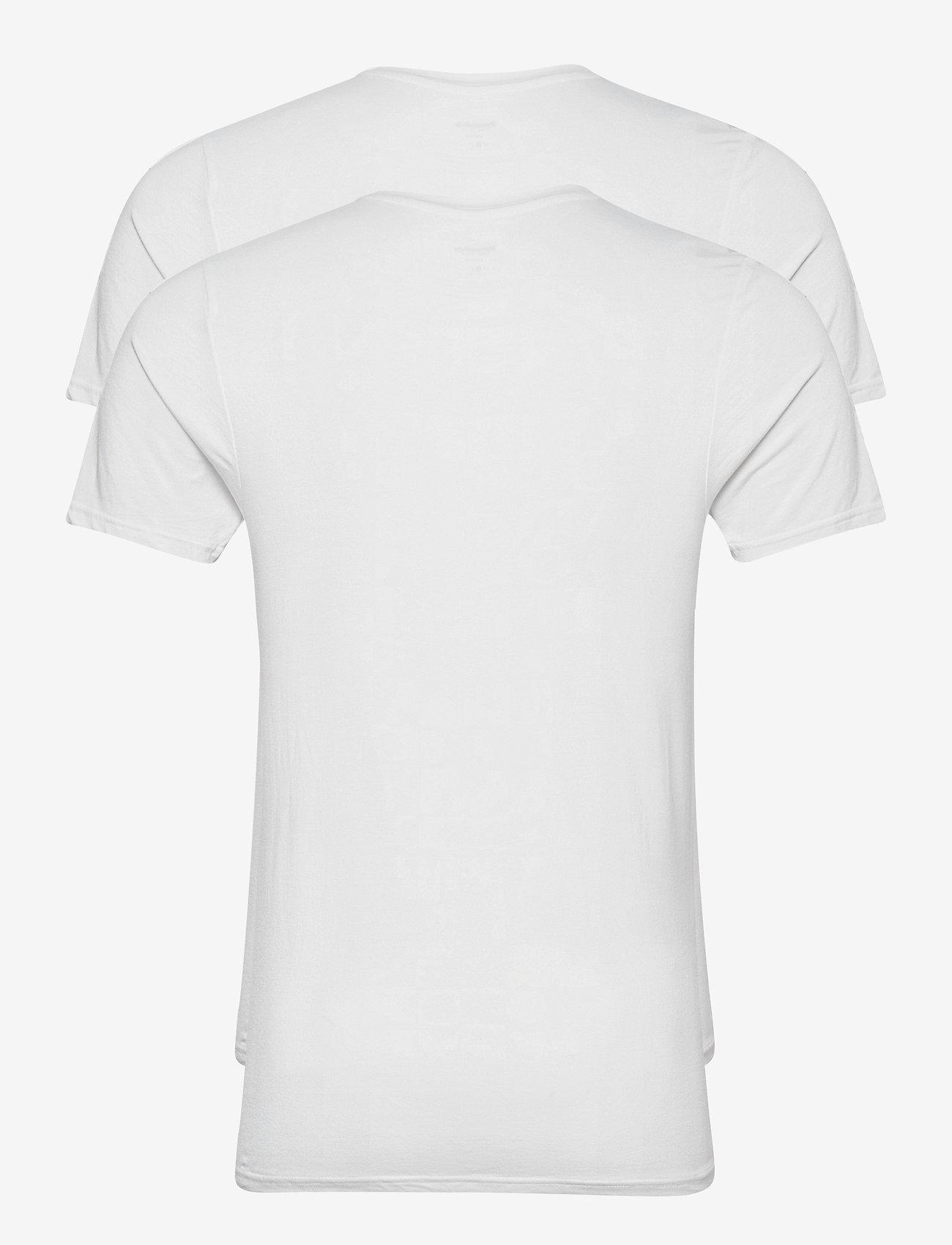 Resteröds BAMBOO 2-PACK TEE - T-skjorter WHITE - Menn Klær