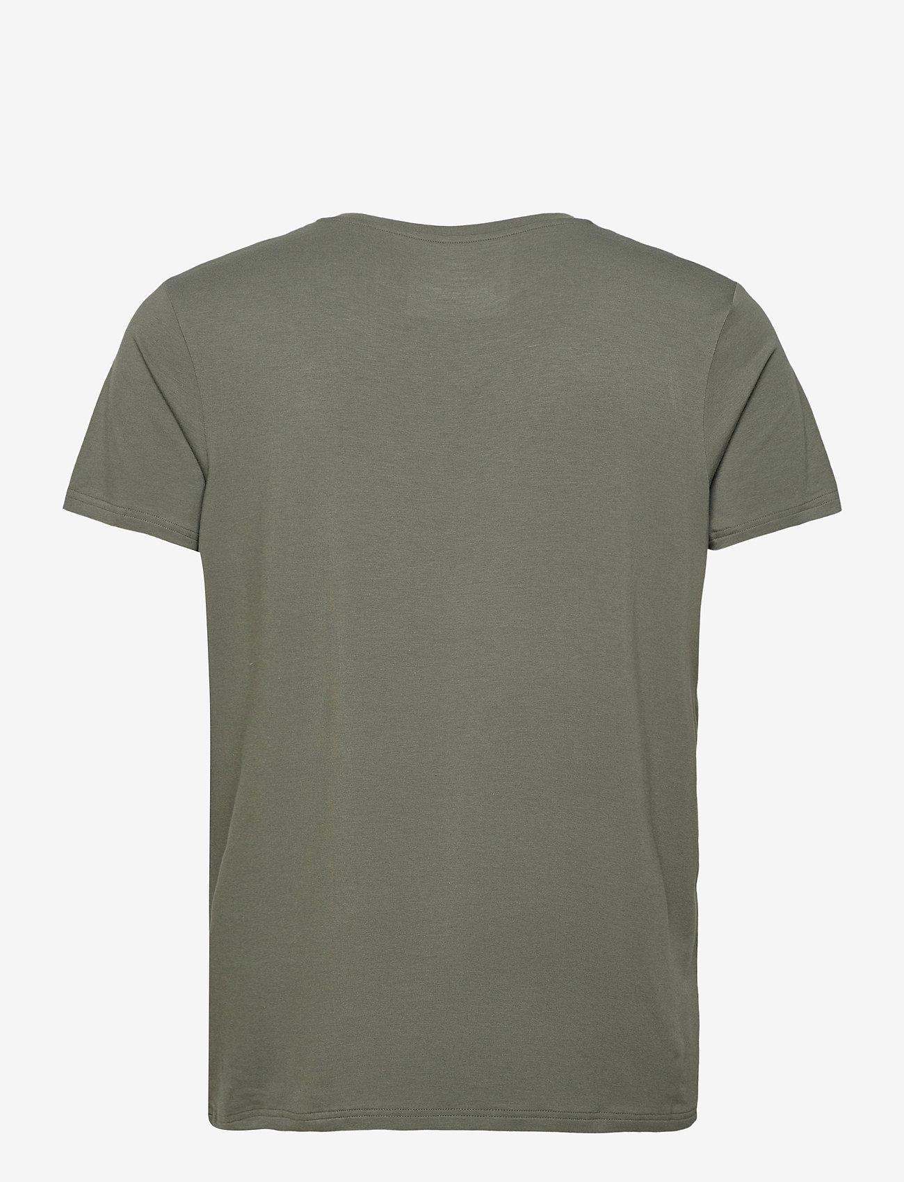 Resteröds BAMBOO R-NECK TEE - T-skjorter GREEN - Menn Klær