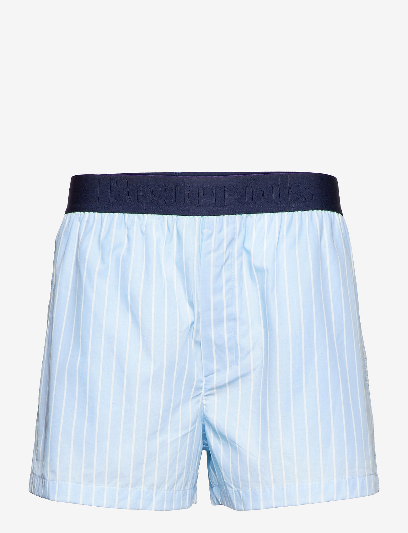 Resteröds - Resteröds Pyjamas Shorts Org. - vêtement de nuit - blå - 0