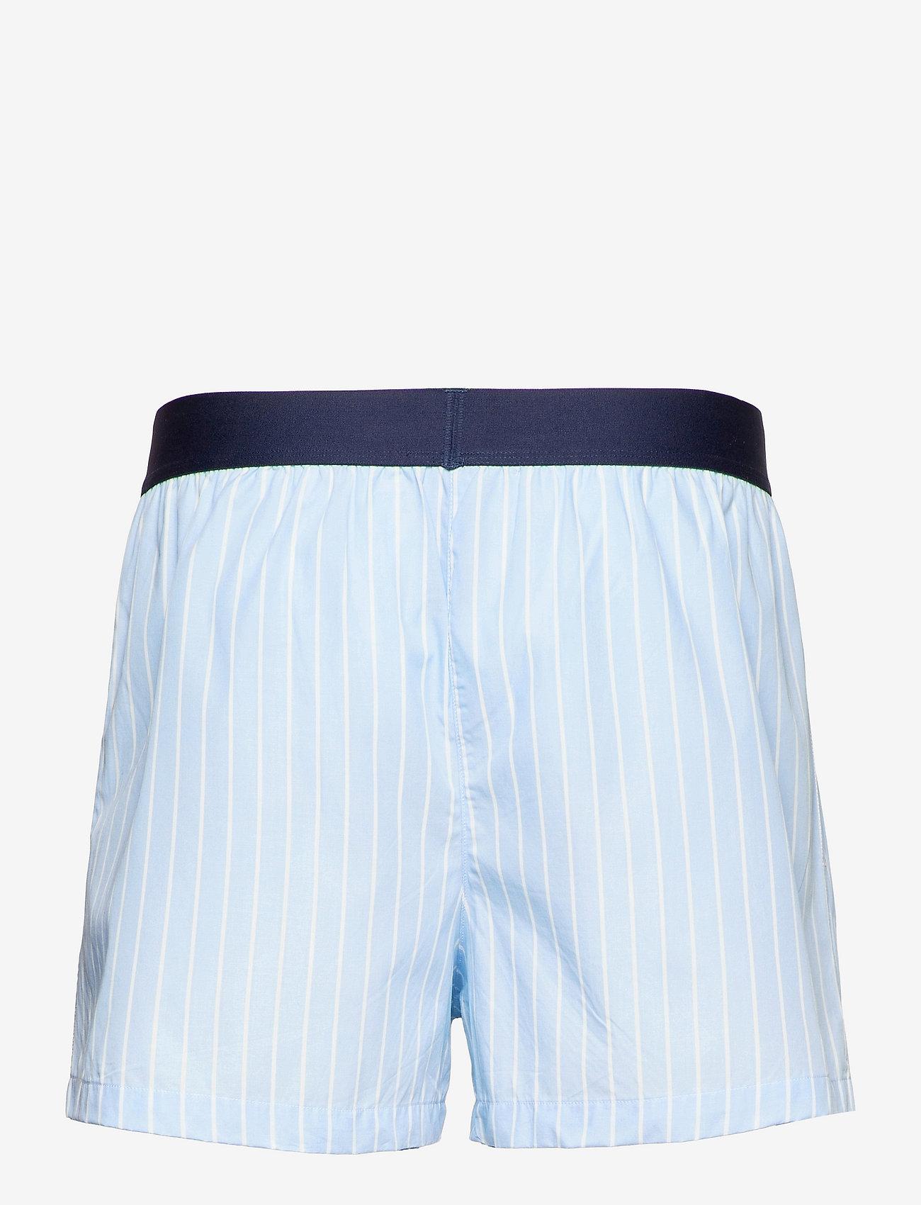 Resteröds - Resteröds Pyjamas Shorts Org. - vêtement de nuit - blå - 1