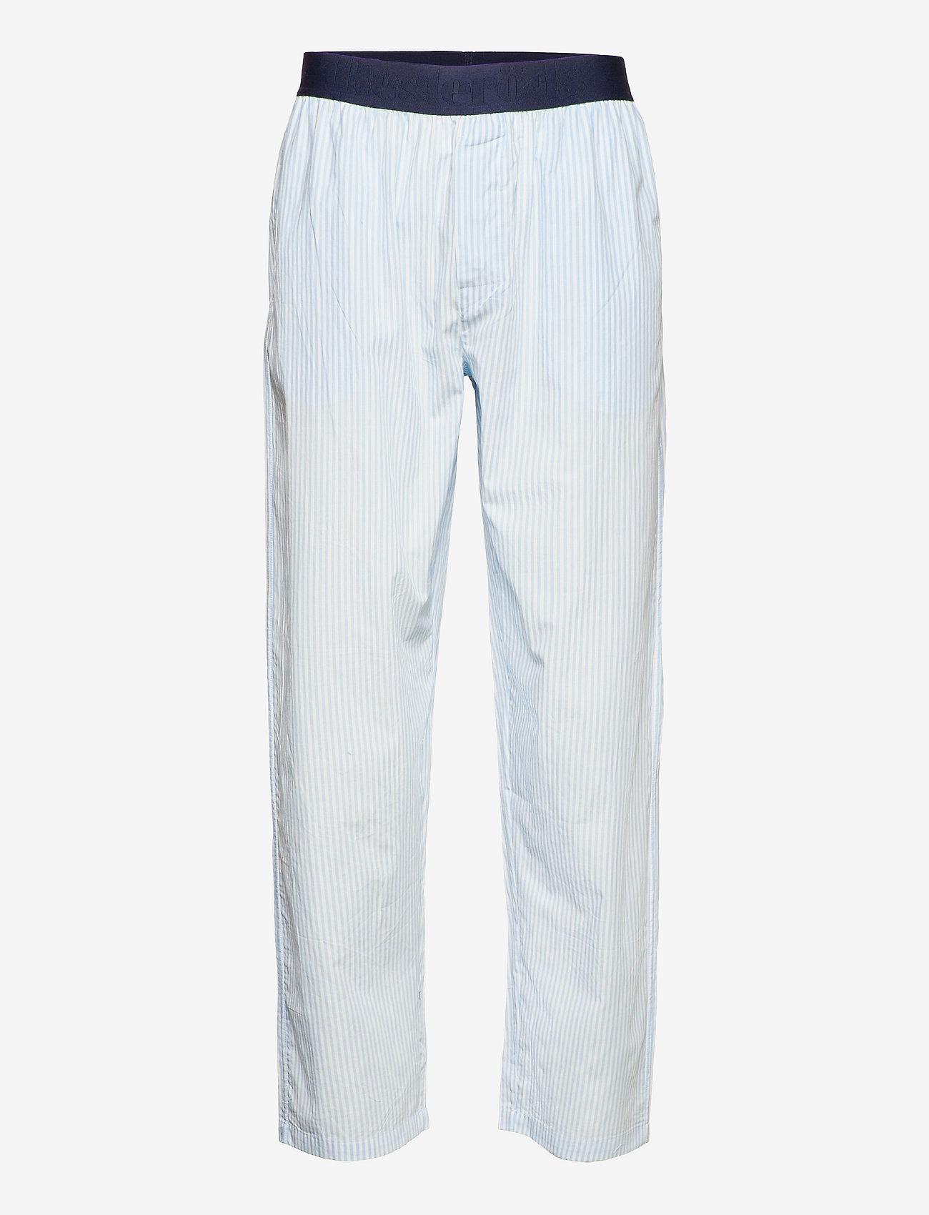 Resteröds - Resteröds Pyjamas pants Org. - bottoms - flerfärgad - 0