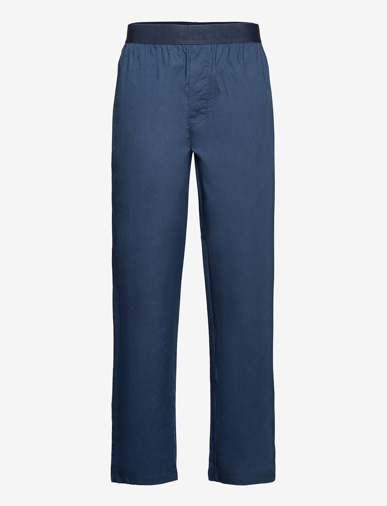 Resteröds - Resteröds Pyjamas pants Org. - bottoms - navy - 0