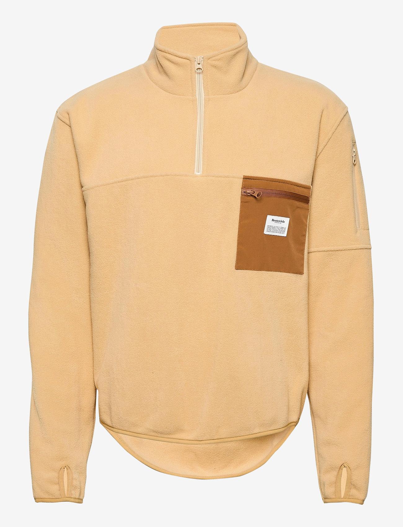 Resteröds - PULLOVER RECYCLED POLYESTER - basic-sweatshirts - brun - 0