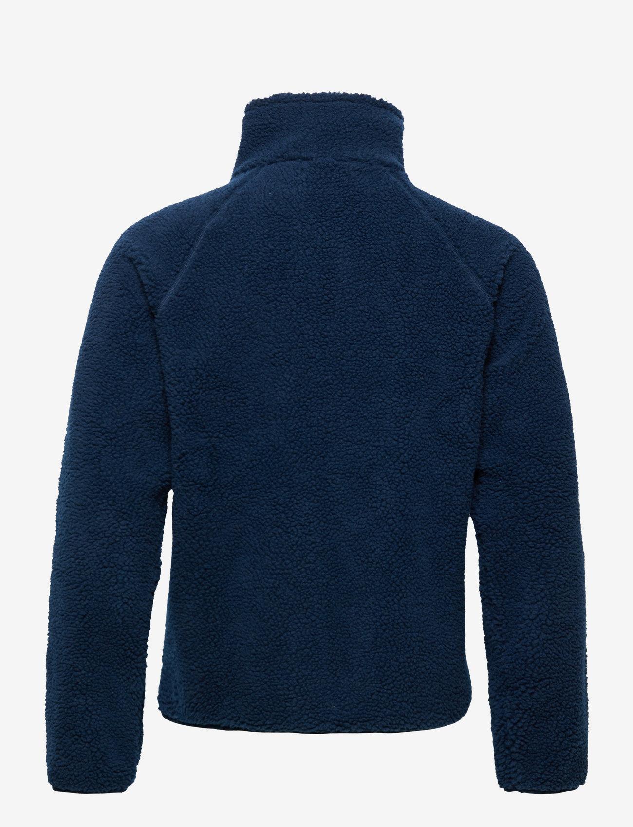 Resteröds - Resteröds Zip Fleece Jacket - basic-sweatshirts - navy - 1