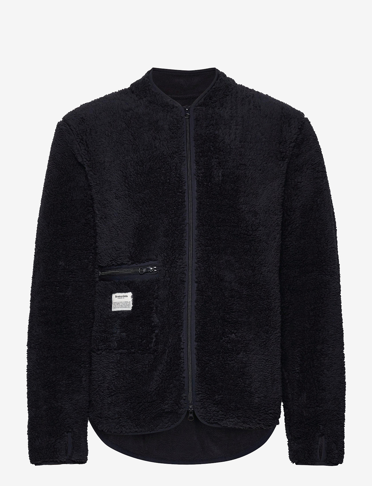 Resteröds - Original Fleece Jacket Recycle - podstawowe bluzy - navy - 0