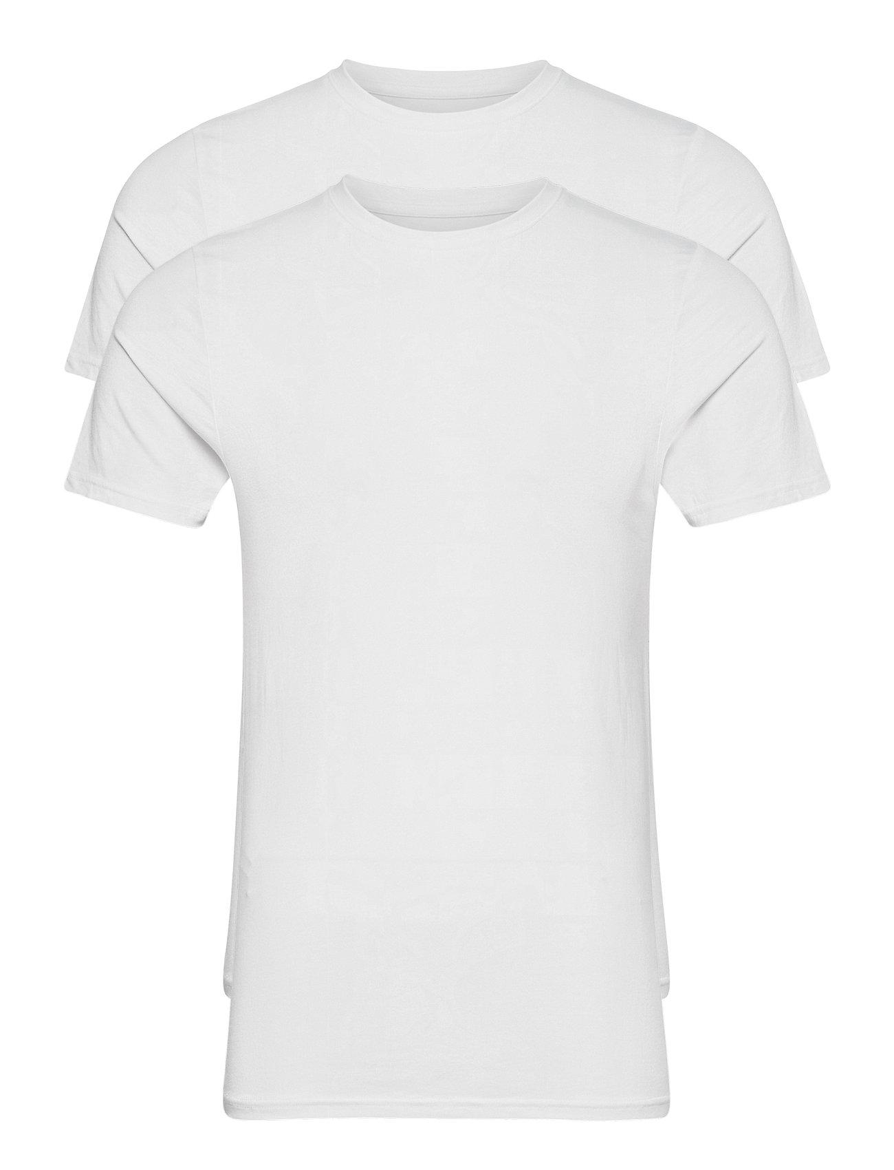 Image of Bamboo 2-Pack Tee T-shirt Hvid Resteröds (3456989851)