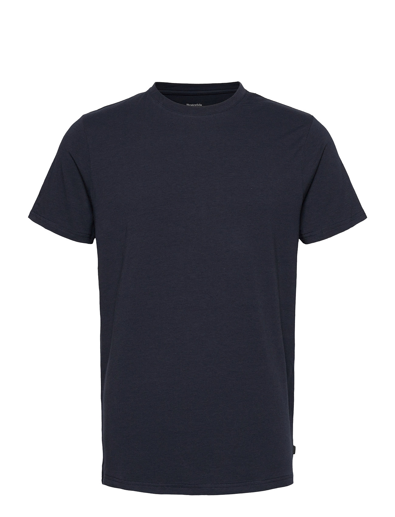 Image of Bamboo R-Neck Tee T-shirt Blå Resteröds (3455507525)
