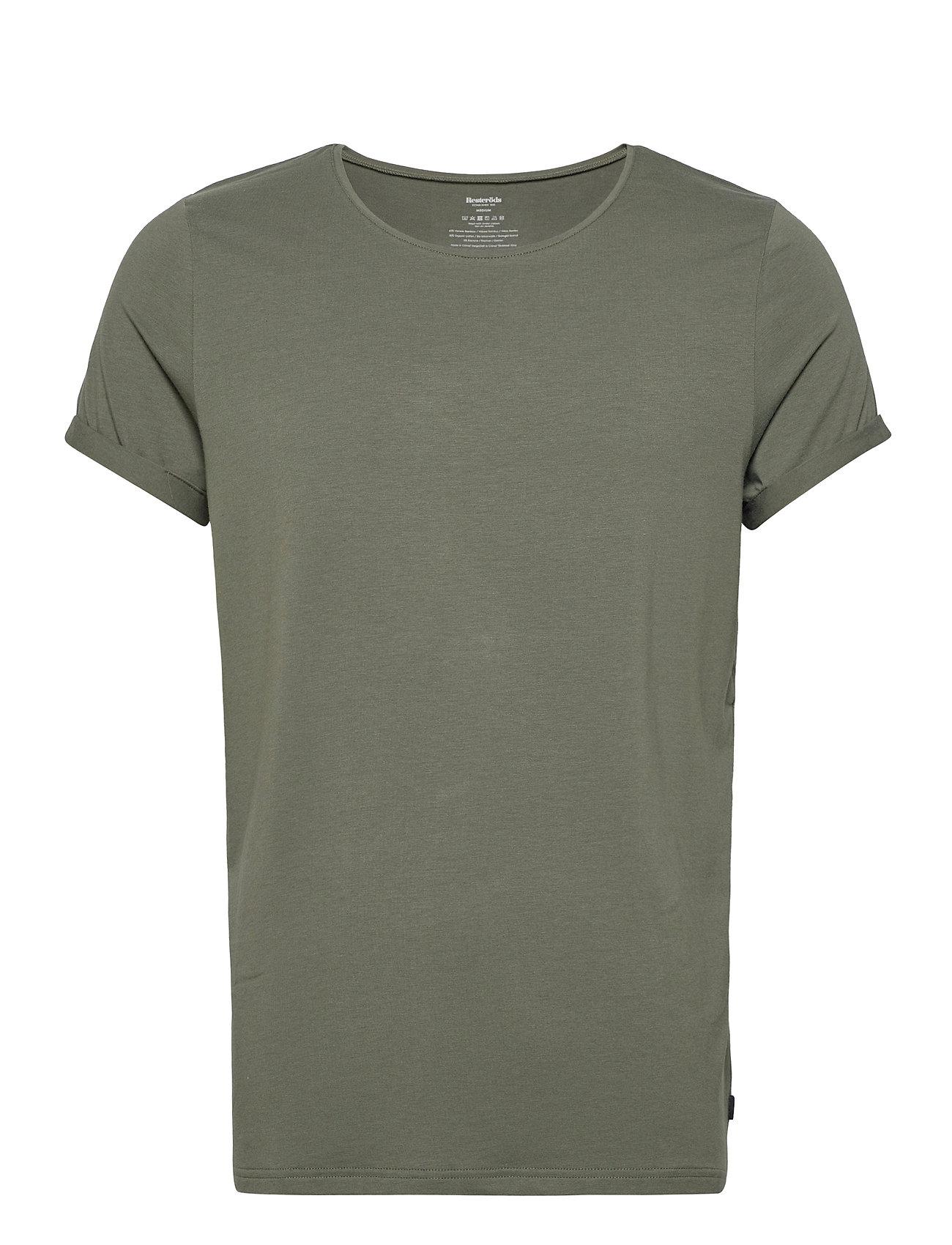 Image of Bamboo Jimmy Tee T-shirt Grøn Resteröds (3455507625)
