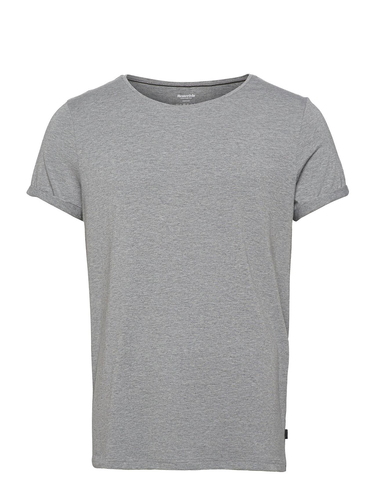 Image of Bamboo Jimmy Tee T-shirt Grå Resteröds (3455507595)