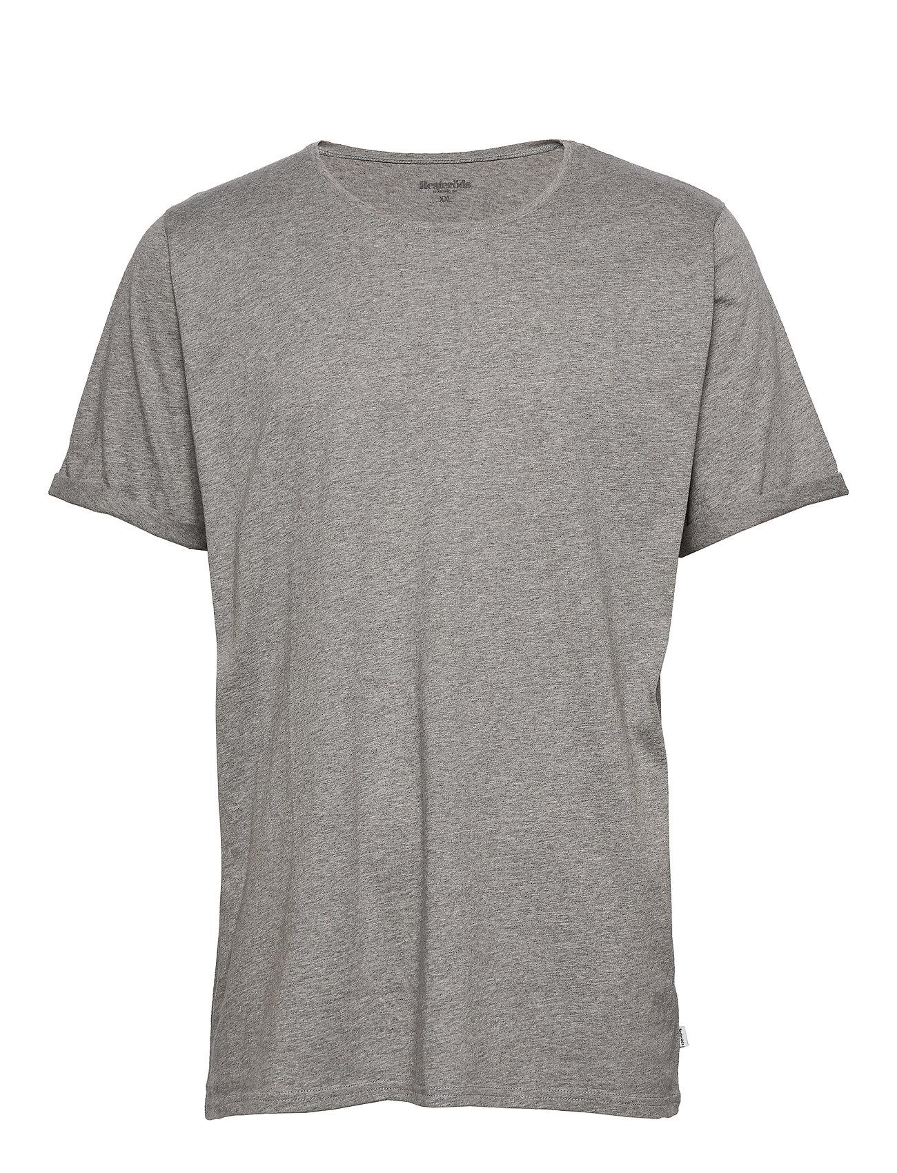 Image of Jimmy Solid T-shirt Grå Resteröds (3378181275)