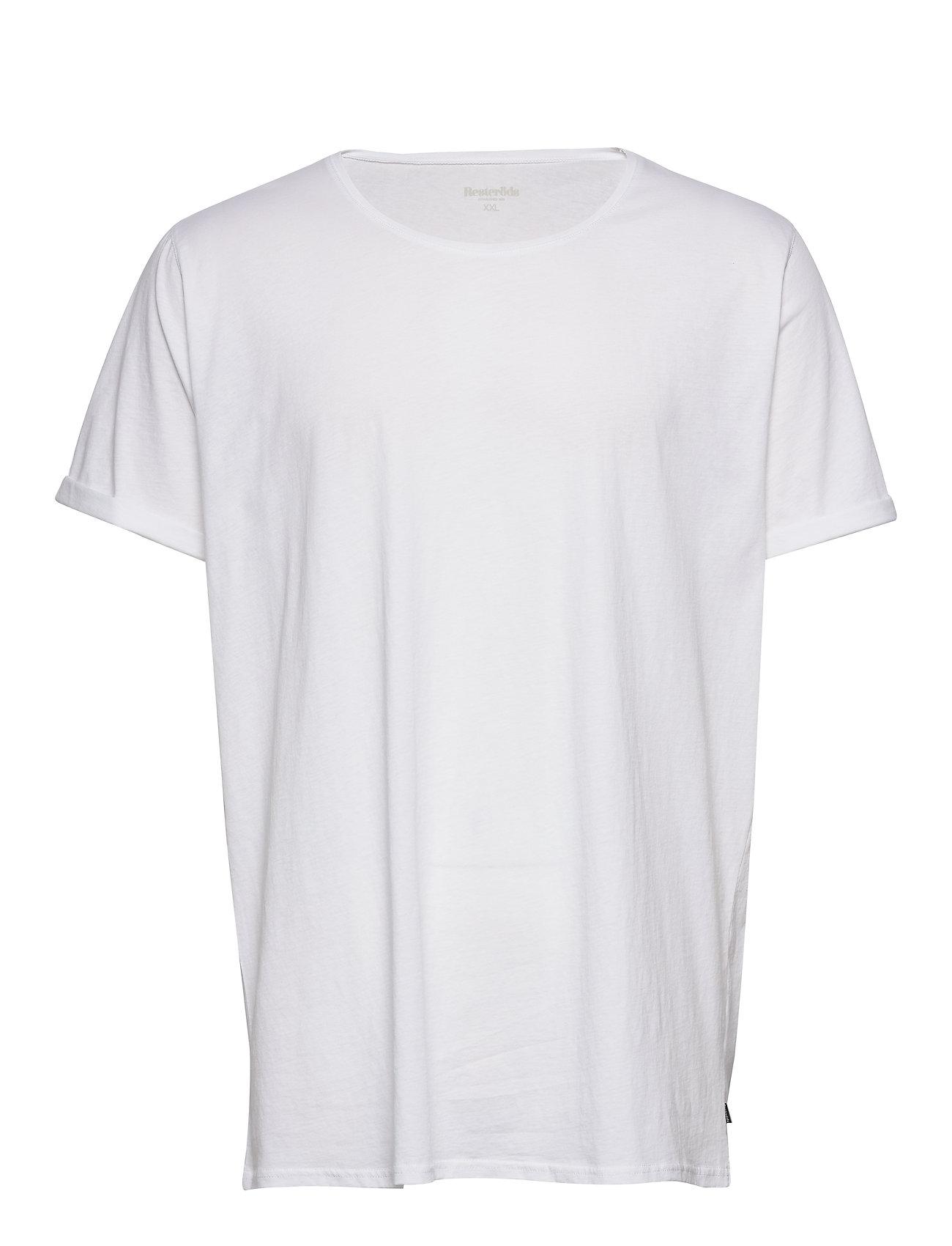 Image of Jimmy Solid T-shirt Hvid Resteröds (3378181273)