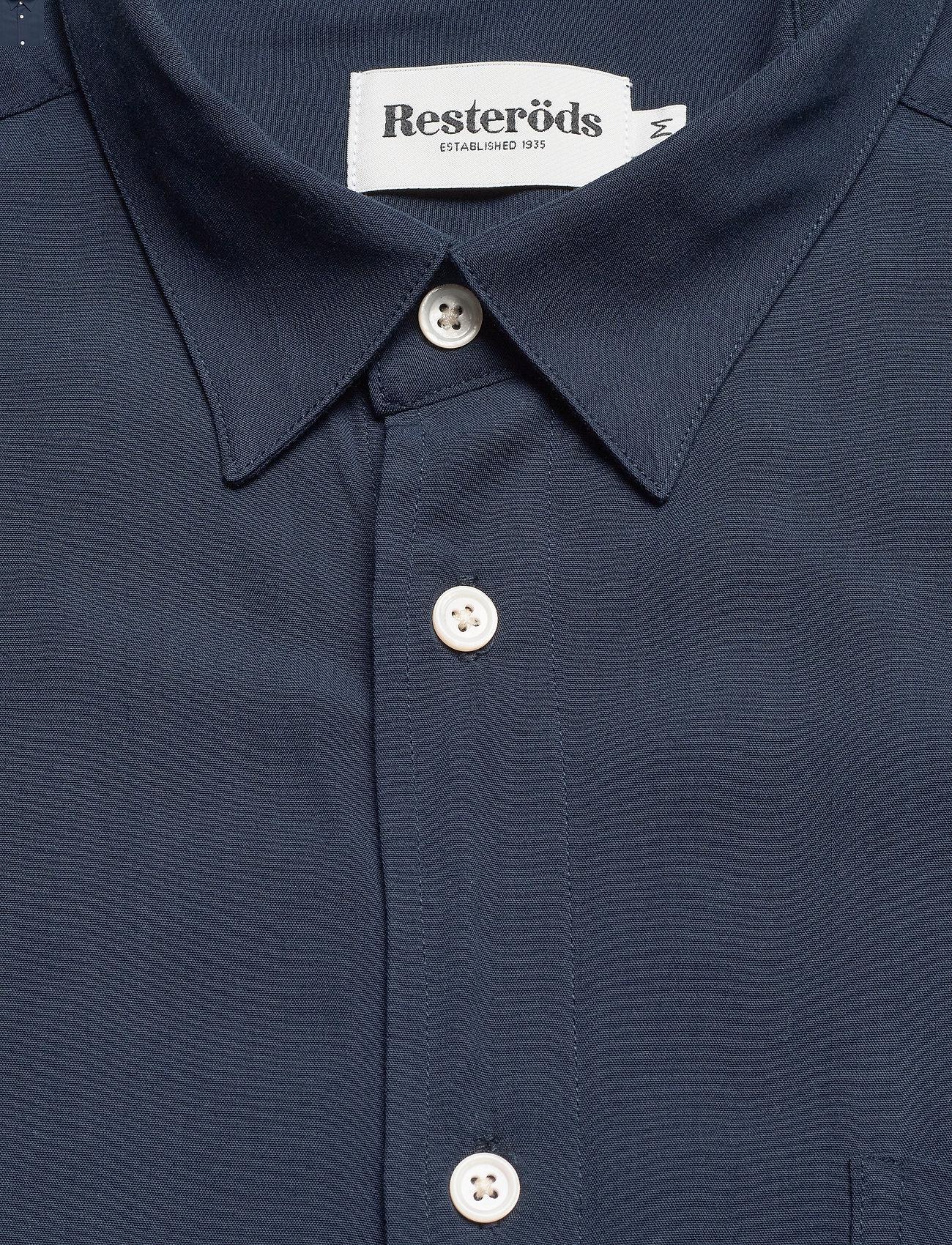 Resteröds Resteröds regular shirt - Skjorter NAVY - Menn Klær