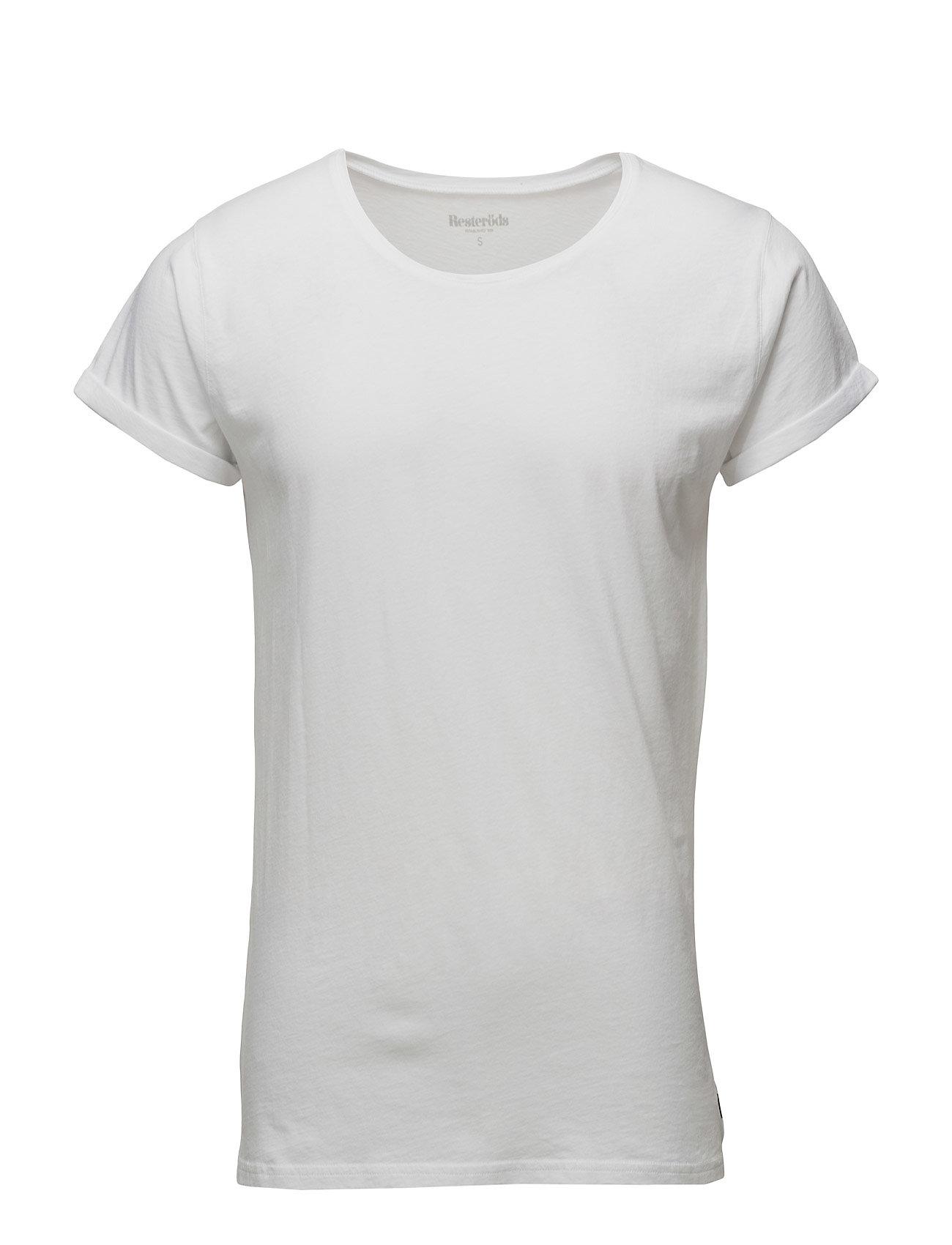 Image of Jimmy Solid T-shirt Hvid Resteröds (3061544231)