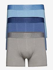 Resteröds - BAMBU 3-PACK Gunnar - boxershorts - grey/blue - 0
