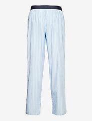 Resteröds - Resteröds Pyjamas pants Org. - bottoms - blå - 1