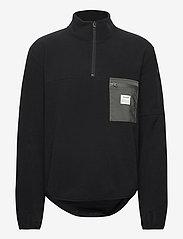 Resteröds - PULLOVER RECYCLED POLYESTER - basic-sweatshirts - black - 0