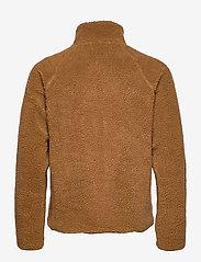 Resteröds - Resteröds Zip Fleece Jacket - basic-sweatshirts - caramel - 1