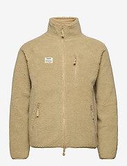 Resteröds - Resteröds Zip Fleece Jacket - basic-sweatshirts - sand - 0
