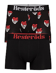 Resteröds 2 pack Gunnar Boxer - LOVE AND R