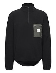 PULLOVER RECYCLED POLYESTER - BLACK