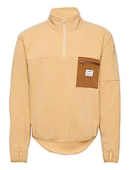 PULLOVER RECYCLED POLYESTER - BRUN