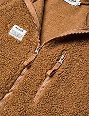 Resteröds - Resteröds Zip Fleece Jacket - basic-sweatshirts - caramel - 2