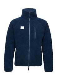 Resteröds Zip Fleece Jacket - NAVY