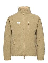 Resteröds Zip Fleece Jacket - SAND