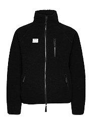 Resteröds Zip Fleece Jacket - SVART