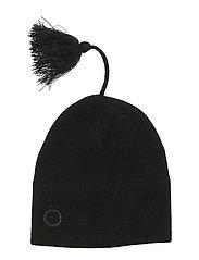 BELLA SOLID Hat - BLACK