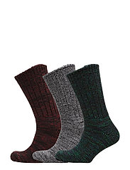 Resteröds Ragsocks 3-pack - MULTI