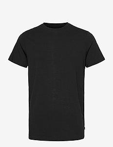 BAMBOO R-NECK TEE - t-shirts basiques - black